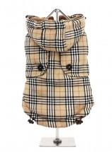 Urban Pup Beige Tartan Coat