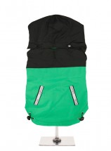 Urban Pup Black & Green Windbreaker Jacket