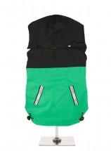 Urban Pup Black & Green Windbreaker Jacket