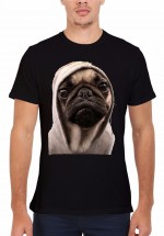 Mens E.T Pug T-Shirt (Available in 2 colours)