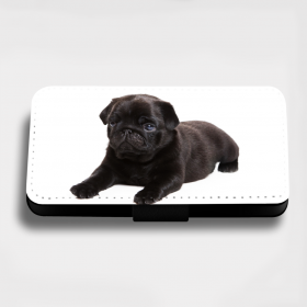 Black Pug Puppy Phone Case For Various Models