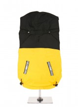 Urban Pup Black & Yellow  Windbreaker Jacket