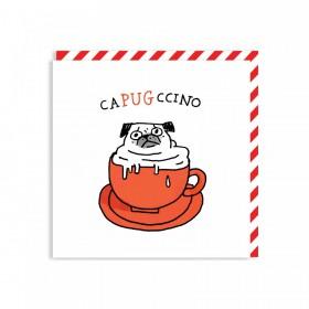 Capugchino Card By Gemma Correll