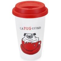 Capugccini Travel Mug By Gemma Correll