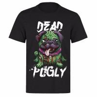 Dead Pugly Unisex Halloween T-Shirt