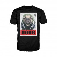 Official Doug The Pug Headphones Beats Unisex T-Shirt