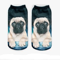 Pug Galaxy Unisex Socks