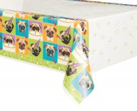 Pug Party Tablecloth