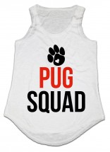 Ladies Pug Squad Vest -One Size