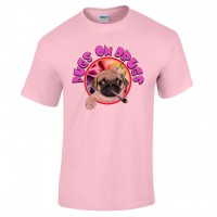 Mens Pugs On Drugs T-Shirt (Available in 3 colours)