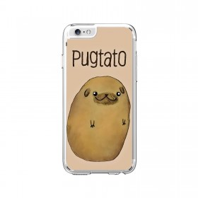 Pugtato iPhone Cover