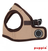 PUPPIA BEIGE SOFT JACKET HARNESS SIZE XL & MATCHING LEAD -SPECIAL OFFER SALE