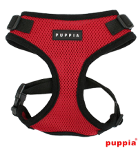 PUPPIA RED RITEFIT HARNESS SIZE LARGE -SALE