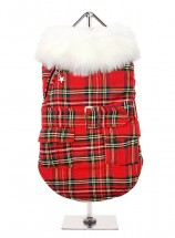 Urban Pup MacGregor Tartan Coat (Only in size XL)