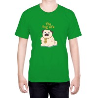 Unisex The Pug Life T-Shirt (Available in 5 colours)