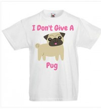 Child's I Don't Give A Pug T-Shirt