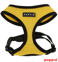 PUPPIA YELLOW SOFT HARNESS SIZE LARGE-SALE