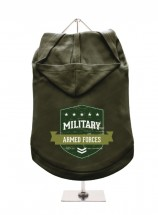 Urban Pup Military Armed Forces Unisex Hoodie In Size XL (Available in 2 colours)