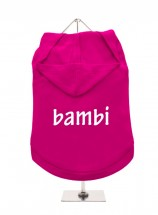 Bambi Pug Unisex Hoodie (Available in 3 colours )
