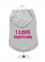 I Love Barcelona Unisex Hoodie (Available in 4 colours )