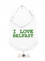 I Love Belfast Unisex Hoodie (Available in 3 colours )