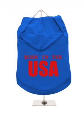 Born In The USA Unisex Hoodie  (Available in 8 colours)