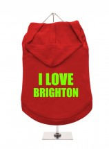 I Love Brighton Unisex Hoodie (Available in 6 colours )