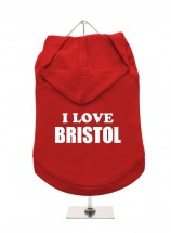 I Love Bristol Unisex Hoodie (Available in 3 colours )