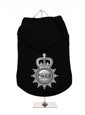 Urban Pup British Police  Unisex Hoodie In Size XL