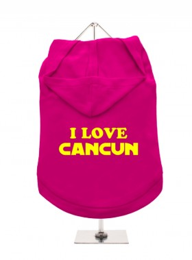 I Love Cancun Unisex Hoodie (Available in 4 colours )