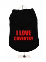 I Love Coventry Unisex Hoodie (Available in 3 colours )
