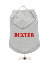 Dexter Pug Unisex Hoodie (Available in 4 colours )