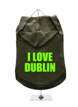I Love Dublin Unisex Hoodie (Available in 4 colours )