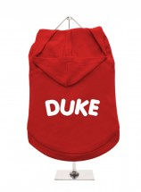 Duke Pug Unisex Hoodie (Available in 3 colours )