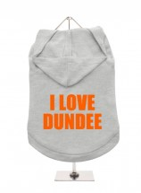 I Love Dundee Unisex Hoodie (Available in 6 colours )