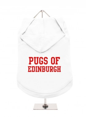 Pugs Of Edinburgh Unisex Hoodie (Available in 8 colours )