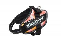 Julius IDC Powerharness – Size Mini – Floral Pink