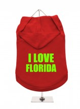 I Love Florida Unisex Hoodie (Available in 5 colours )