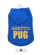 Ghetto Pug Unisex Hoodie (Available in 5 colours )