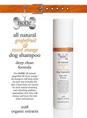 All Natural Grapefruit & Sweet Orange Dog Shampoo (300ml)
