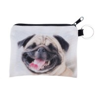 Happy Pug Unisex Wallet