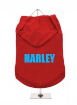 Harley Pug Unisex Hoodie (Available in 3 colours )