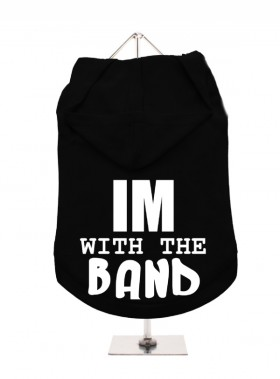 I'm With The Band Unisex Hoodie (Available in 4 colours)