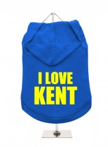 I Love Kent Unisex Hoodie (Available in 6 colours )