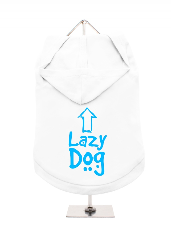 lazy dog unisex hoodie  available in 6 colours
