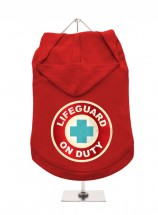 Urban Pup Life Guard Unisex Hoodie In Size XL (Available in 2 colours)