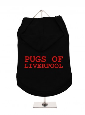 Pugs Of Liverpool Unisex Hoodie (Available in 5 colours )
