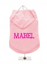 Mabel Pug Hoodie (Available in 3 colours )