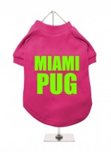 Miami Pug Unisex T-Shirt  (Available in 4 colours )