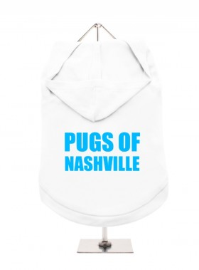 Pugs Of Nashville Unisex Hoodie (Available in 4 colours )